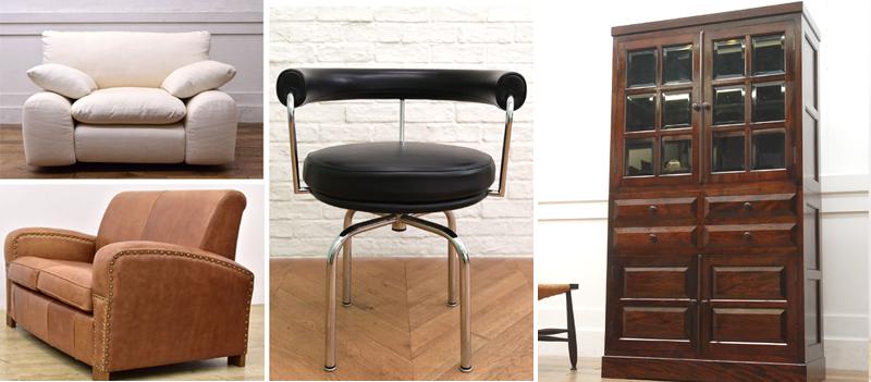 デザイナーズ家具・北欧家具・民芸家具などの高級家具を高額買取