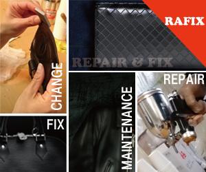 革製品のバック,財布,ポーチ,ソファなどのリペア・修理はRAFIXにお任せください。