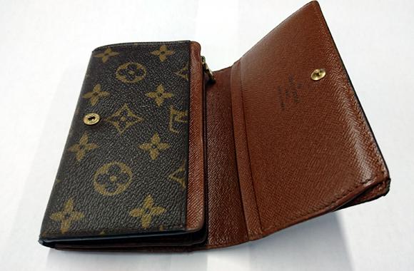 ルイ・ヴィトンの財布リペア
