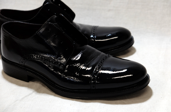 革靴の染め直し修理